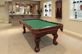 Experienced pool table installers in Atlanta are backed by the ABIA