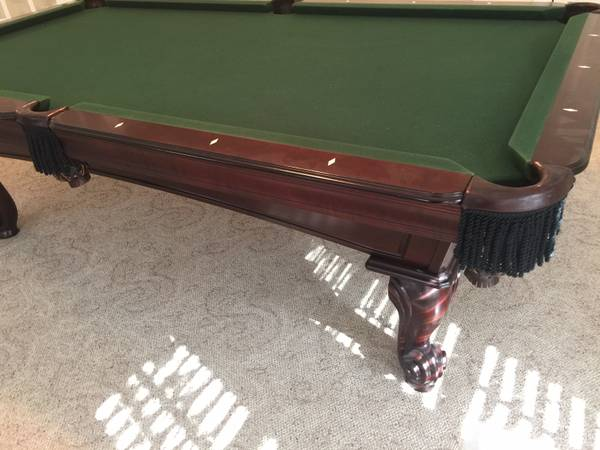 Solo 174 Woodstock Pool Table And Game Room Accessories 57