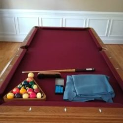 7' American Heritage Pool Table(SOLD)