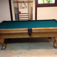 8' Olhausen Vail Pool Table