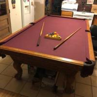 Regulation Size Olhausen Pool Table